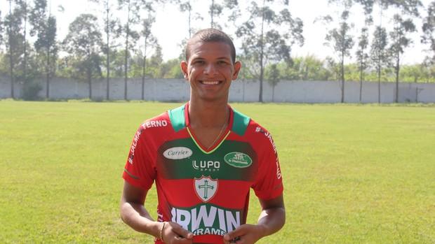 Willian Arão já vestiu a camisa da Portuguesa (Foto: Divulgação/Portuguesa)