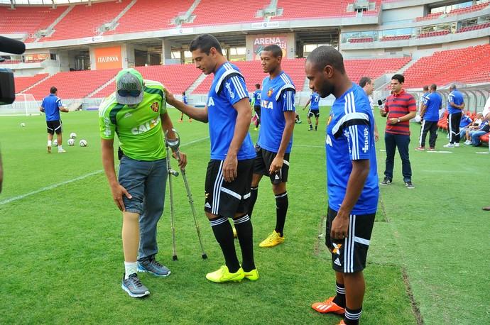 Jefferson Sport (Foto: Aldo Carneiro / Pernambuco Press)