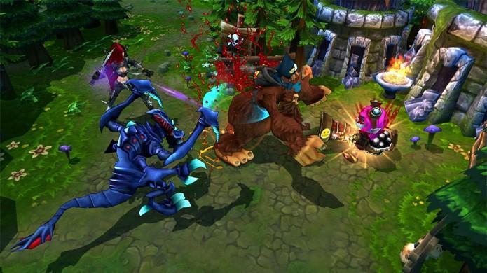 League of Legends popularizou um novo subgênero que está em alta até hoje (Foto: Reprodução/Blues News)