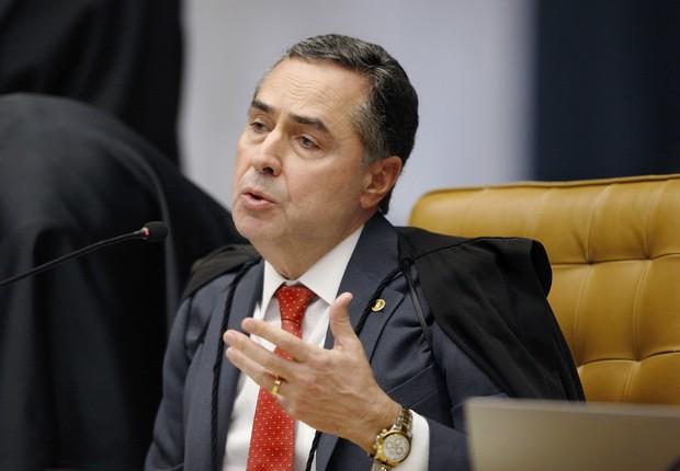 Ministro Luis Barroso do STF (Foto: Rosinei Coutinho/SCO/STF)