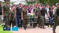Sargento do Exército Bruno Cazuca é enterrado em Mesquita