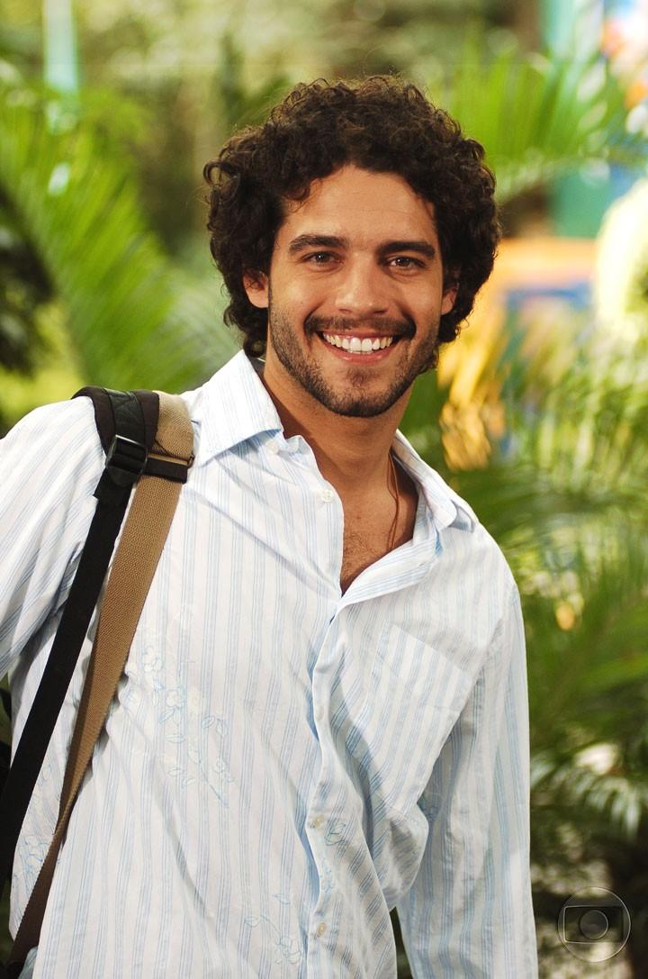Guilherme Winter viveu Thiago em 'Malhação' (Foto: CEDOC/TV Globo)