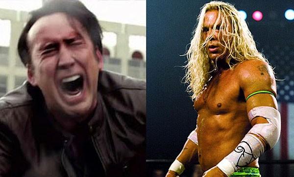 Nicolas Cage e Mickey Rourke (Foto: Reprodução)