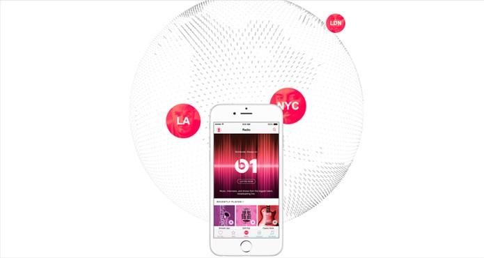 A rádio Beats funcionará 24 horas por dia com curadoria de DJs internacionais  (Foto: Reprodução/Apple)