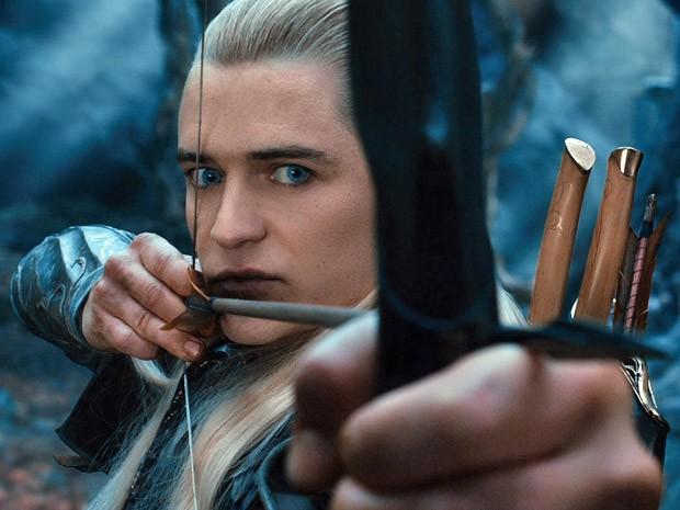 Orlando Bloom é o elfo Legolas em 'O hobbit: A desolação de Smaug' (Foto: Divulgação)