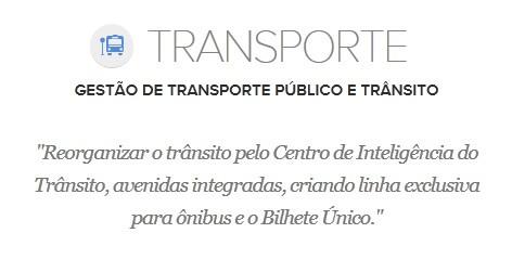 Proposta de Edivaldo Holanda para o Transporte (Foto: G1 Maranhão)