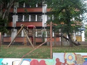 Fachada da Escola Estadual de Ensino Fundamental Pio XII, de Bom Princípio (RS) (Foto: Arquivo pessoal)