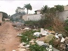 Avenida de bairro em São Luís é tomada por lixão
