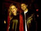 Claudia Leitte curte noite com marido: 'Mamãe precisa de festa'