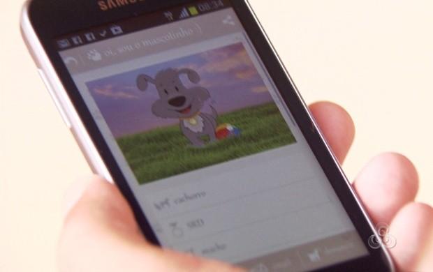 Roraimenses adotam animais de estimação com auxílio de aplicativo (Foto: Roraima TV)