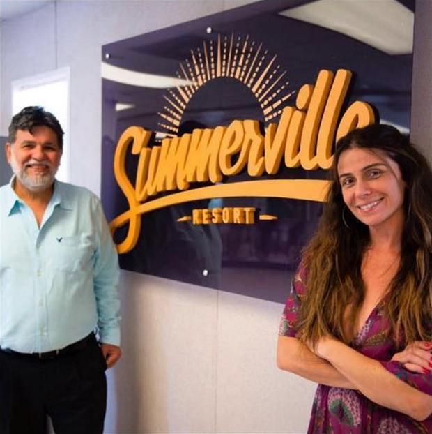 Giovanna Antonelli é garota-propaganda do condomínio-resort (Foto: Reprodução/Instagram)