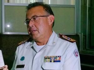 Coronel Alfredo Castro (Foto: Maiana Belo/G1)
