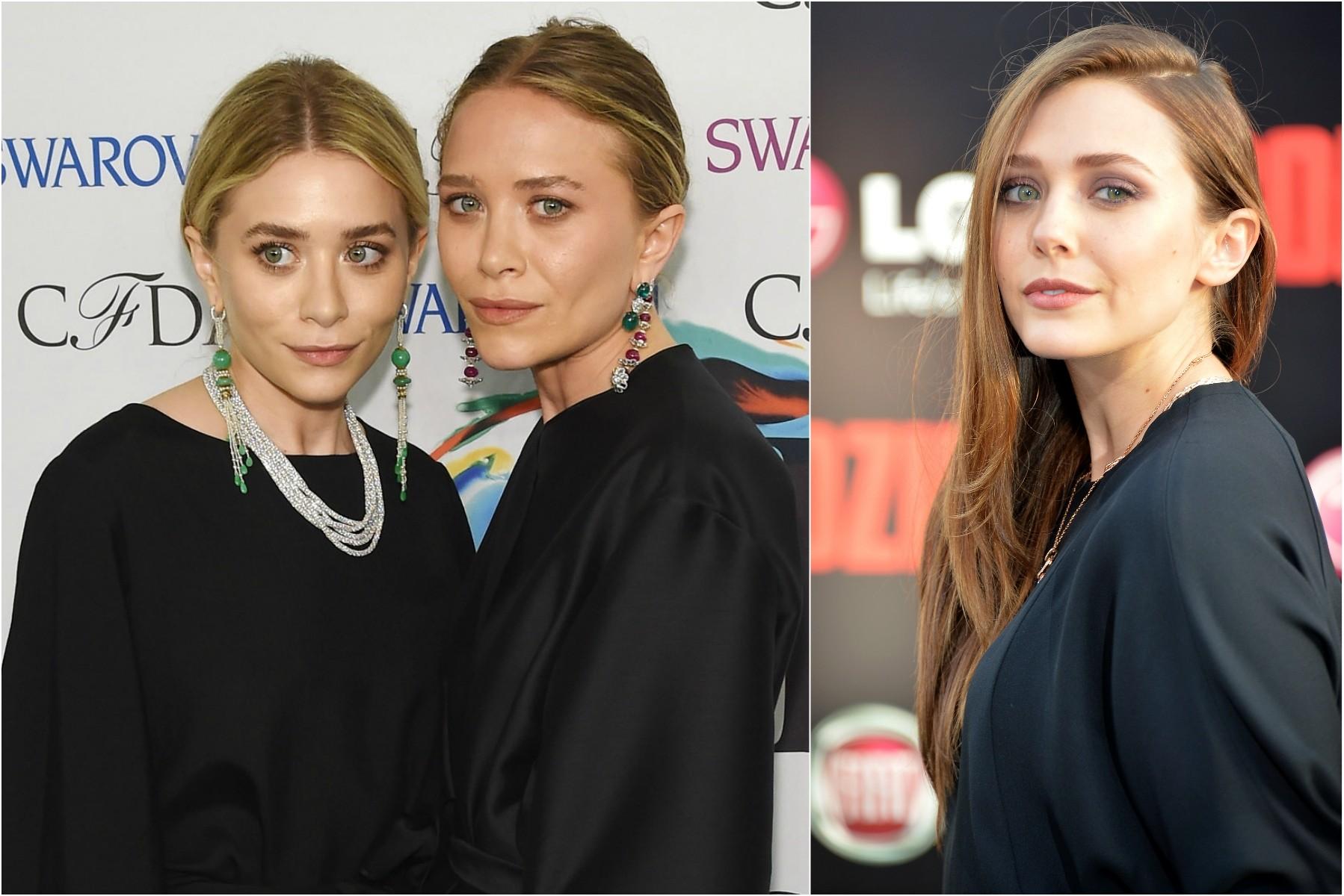 Claro que, se você conhece Mary-Kate Olsen, você também conhece Ashley. Ou vice-versa. Mas quem você talvez não conheça é a irmã mais nova das gêmeas de 28 anos, a atriz Elizabeth Olsen, de 25. (Foto: Getty Images)