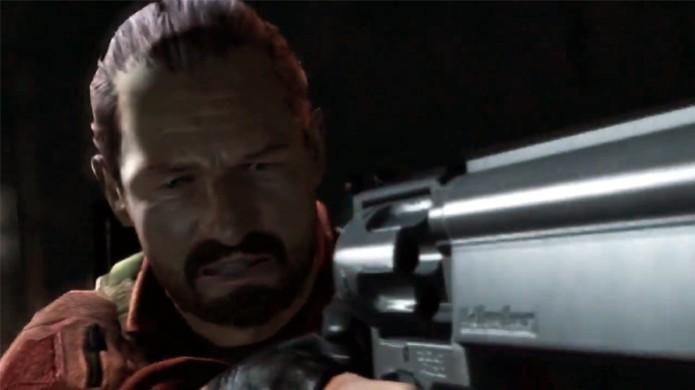 Clássico personagem Barry Burton está de volta em Resident Evil Revelations 2 (Foto: Reprodução: YouTube) (Foto: Clássico personagem Barry Burton está de volta em Resident Evil Revelations 2 (Foto: Reprodução: YouTube))