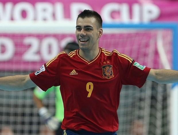 Espanha futsal Lozano (Foto: Getty Images/Fifa)