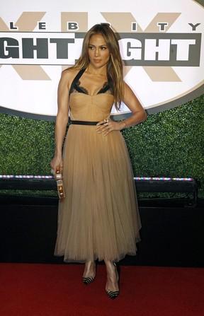Jennifer Lopez em evento em Phoenix, nos Estados Unidos (Foto: Ralph Freso/ Reuters)