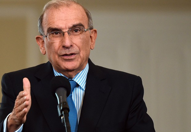 Humberto De La Calle, negociador do acordo de paz entre o governo da Colômbia e as Farc (Foto: Getty Images)