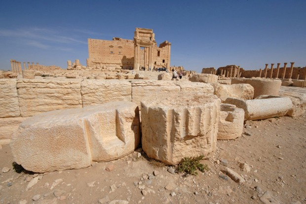 Templo de Bel, em Palmira, na Síria, em foto de arquivo de 2008 (Foto: Omar Sanadiki/ Reuters)