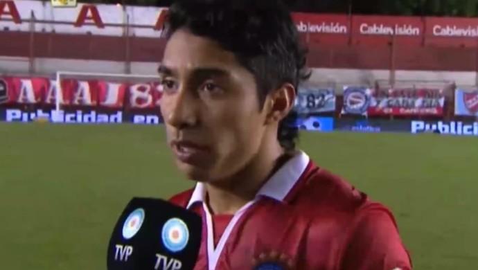 Luciano Cabral Atlético-PR (Foto: Site oficial do Argentino Jrs/Divulgação)