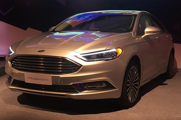 Ford Fusion 2017 (Foto: Michelle Ferreira / Autoesporte)