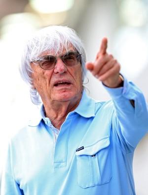 Bernie Ecclestone, GP de Cingapura, Fórmula 1 2013 (Foto: Getty Images)