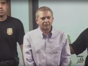 Alemão foi preso em 2008 na cidade de Taguatinga, Distrito Federal. (Foto: Reprodução/TV Verdes Mares)