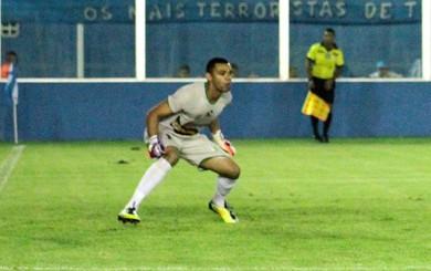 Paulo Rafael, goleiro, Parauapebas (Foto: Fernando Torres/Ascom Paysandu)