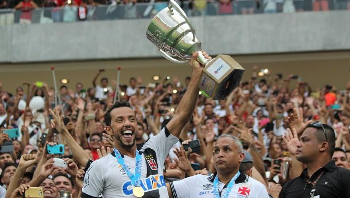 Nenê Vasco campeão (Foto: Carlos Gregório Jr-Vasco.com.br.)