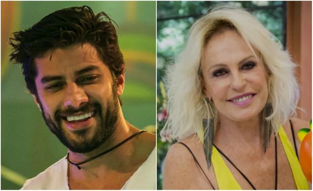O ex-BBB Renan e a apresentadora Ana Maria Braga são fãs das lentes de 08959ec950