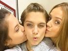 Isabella Santoni posta foto ao lado de colegas de 'Malhação': 'Último dia'