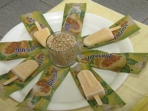 Picolé de soja Epamig Uberaba (Foto: Reprodução/ TV Integração)