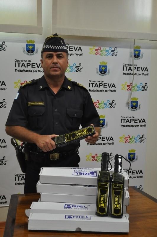 Dez detectores de metais serão usados pela GM de Itapeva (SP). (Foto: Divulgação / Prefeitura Municipal de Itapeva)