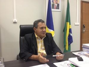 Presidente da Assembleia Legislativa, deputado Chico Guerra, diz que cumprirá sentença (Foto: Vanessa Lima/G1 RR)