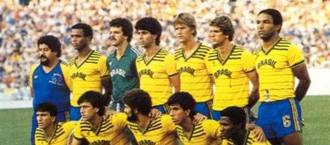 brasil olimpíadas los angeles1984 seleção posada (Foto  Divulgação   CBF) b9fea06edf8b1