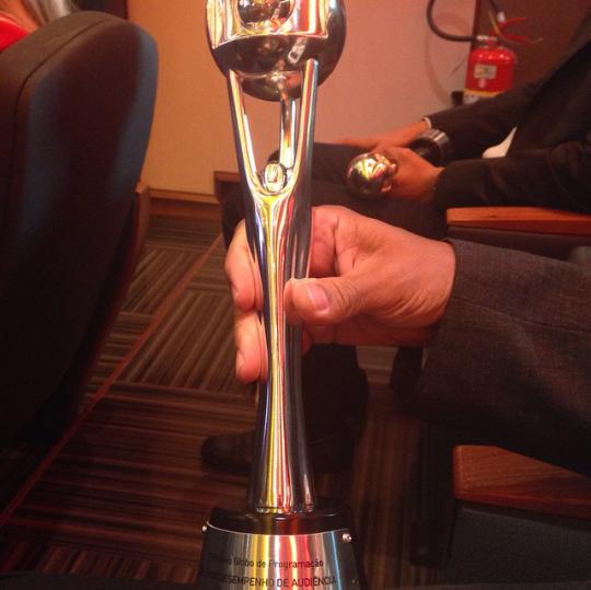 Programação da Rede Bahia ganha prêmio de melhor desempenho de audiência (Foto: Adriana Almeida)