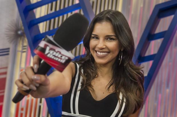 Mariana Rios no The Voice (Foto: Globo)