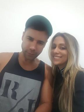Rodrigo Sant'Anna e Fabiana Nogueira (Foto: Arquivo pessoal)