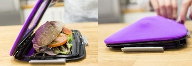 Foodskin Compleate  (R$ 160,00), da Bento Store | Feito de silicone, mantém o formato dos sanduíches (Foto: Divulgação)