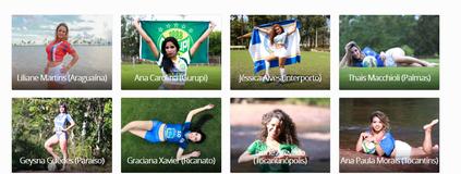 Quem deve ser a musa do Tocantinense 2016? (Reprodução/GloboEsporte.com)