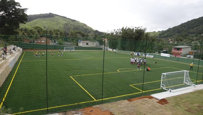 Centro de treinamento futebol de 7 (Foto: Fernando Gallo/Hoop Sports)