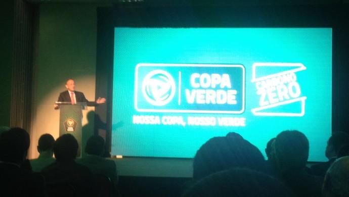Lançamento Copa Verde (Foto: Antenor Filho/Agência Pará)
