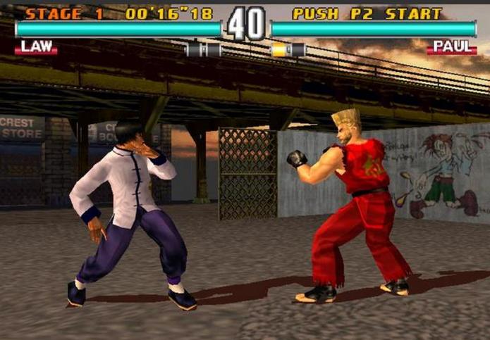 Tekken 3 (Foto: Reprodução/Felipe Vinha)