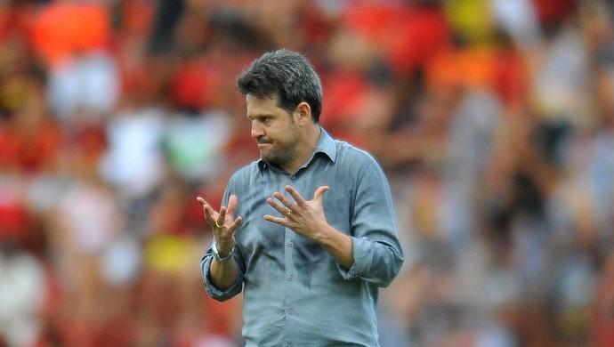 Argel Fucks Figueirense (Foto: Aldo Carneiro / Pernambuco Press)