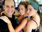 Marina Ruy Barbosa adere à aula de dança e ganha elogio de professor