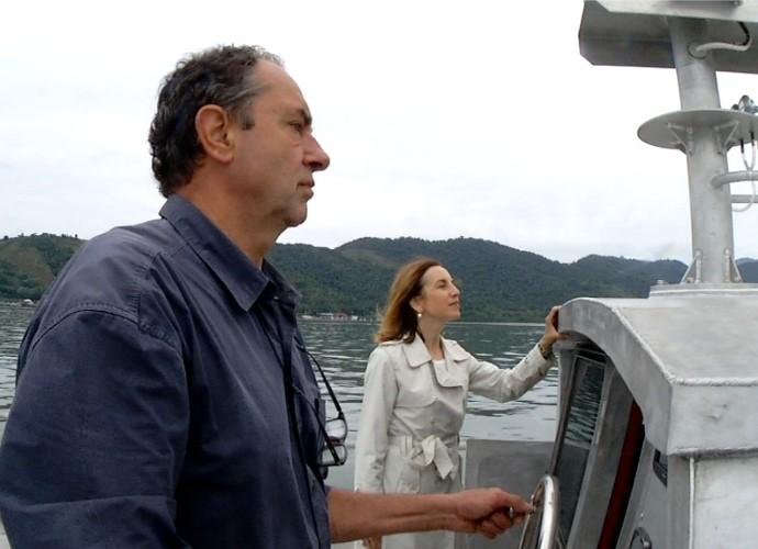 Navegador Amyr Klink contou sobre o sonho de atravessar o Atlâtico (Foto: Rio Sul Revista)