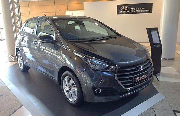 Hyundai apresenta HB20 com motor 1.0 Turbo (Foto: Leandro Alvares)