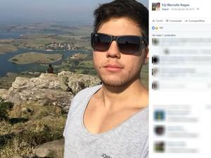 Vítima foi baleada em frente a faculdade (Foto: Reprodução/Facebook)