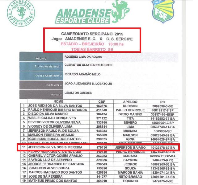 Amadense  (Foto: Reprodução/Site FSF)