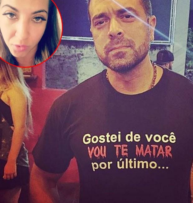 Bruno Andrade responde posts de Priscila Pires (Foto: Reprodução)