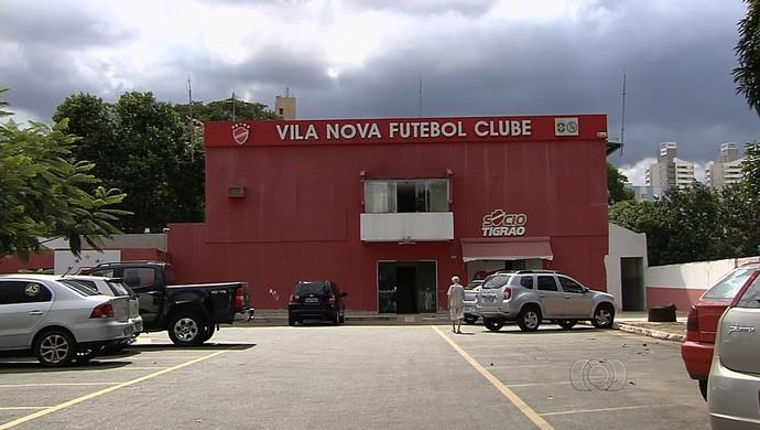 Onésio Brasileiro Alvarenga, sede do Vila Nova (Foto: Reprodução/TV Anhanguera)